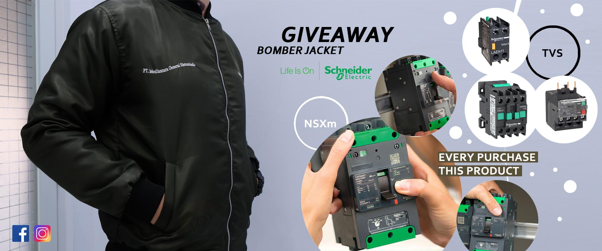 Giveaway Bomber Jacket