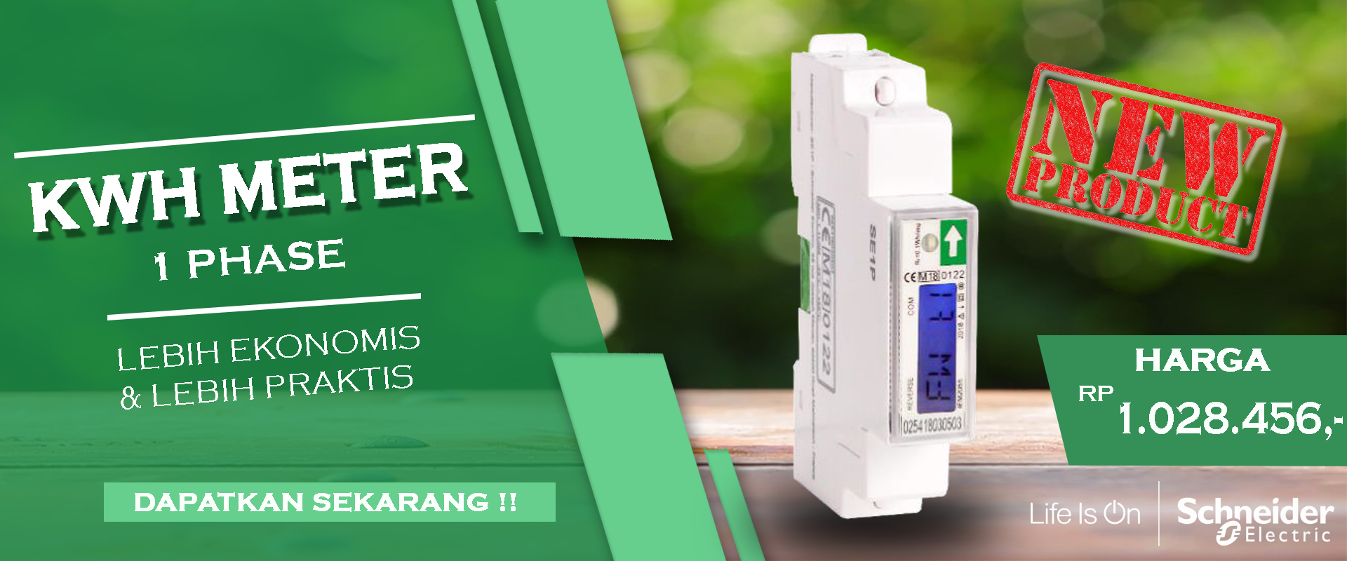 NEW PRODUCT KWH METER
